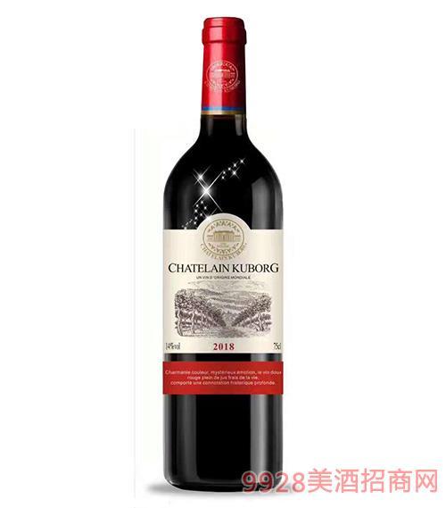 古堡酒�f・斯波朗精�x干�t葡萄酒