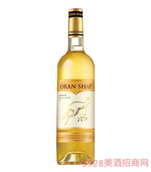 澳蘭莎普金袋鼠干白葡萄酒750ml