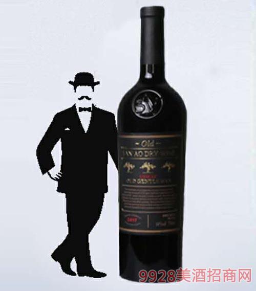 老绅士西拉干红葡萄酒750ml