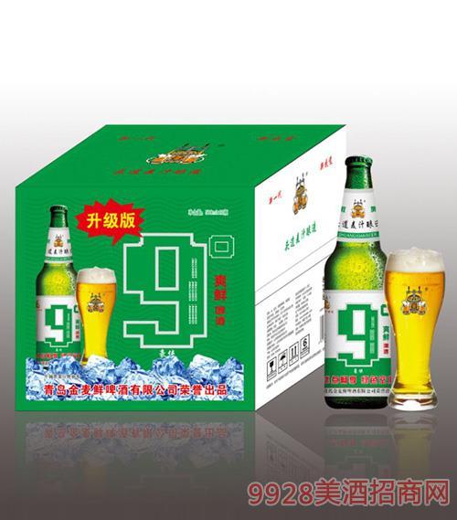 金���r爽�r啤酒升�版9度500mlx12