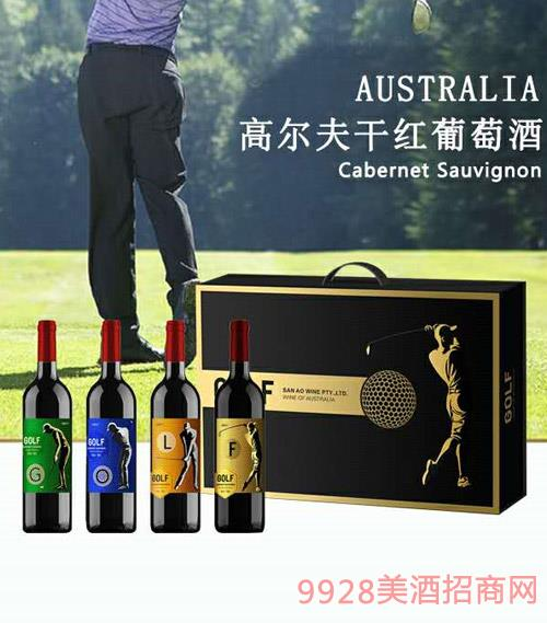 澳大利亞高爾夫赤霞珠干紅葡萄酒(G)750ml
