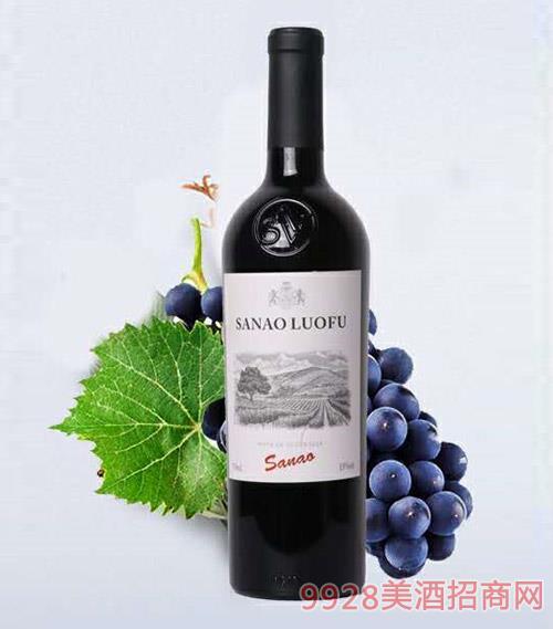洛赋干红葡萄酒750ml
