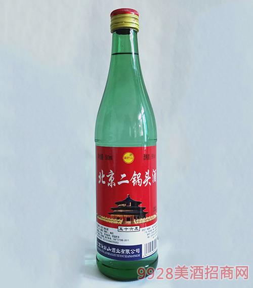 新拦山北京二锅头酒56度500ml绿