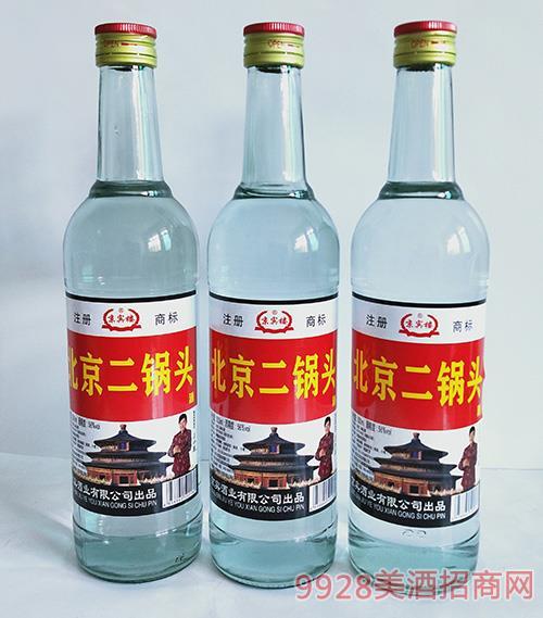 京宾楼北京二锅头酒56度500ml白瓶