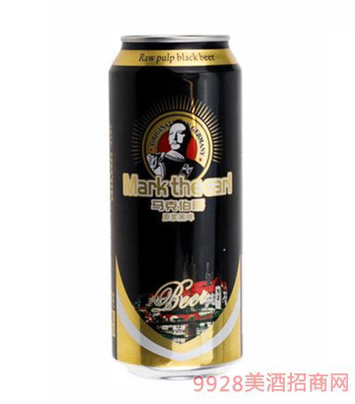 德国马克伯爵原浆黑啤500ml