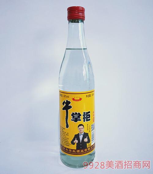 牛掌柜陈酿酒42度500ml