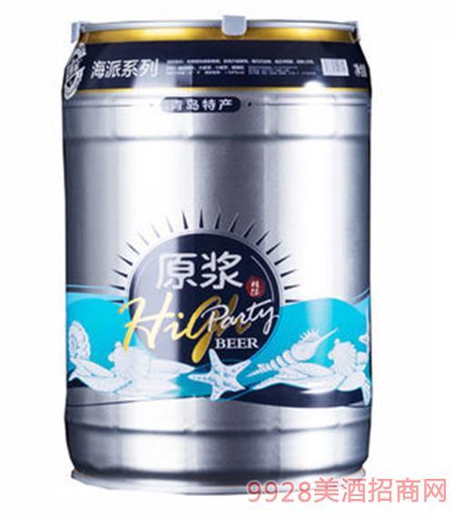 崂世家原浆白啤5L