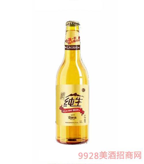 崂世家纯生啤酒500ml