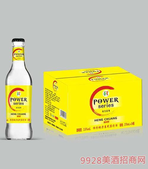 恒创动力苏打酒清纯型3.5度275ml