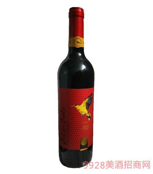 澳大利亚金黄鹂畅享赤霞珠干红葡萄酒