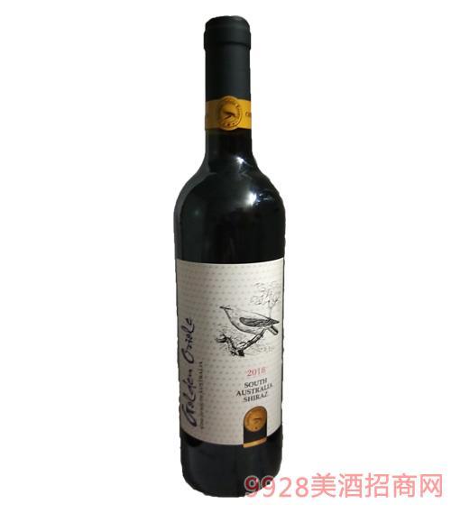 澳大利亞金黃鸝暢享西拉干紅葡萄酒