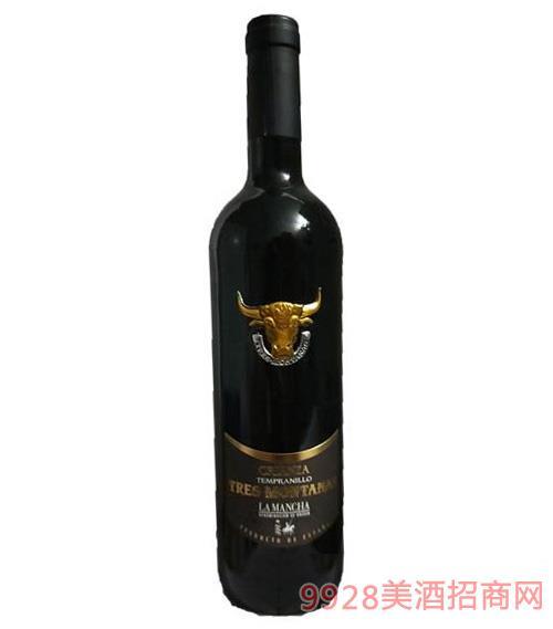 西班牙牛头珍藏干红葡萄酒