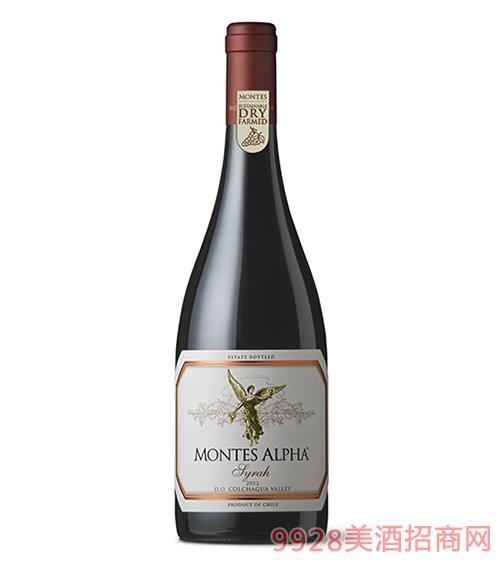 蒙特斯歐法西拉干紅葡萄酒14.5度750ml
