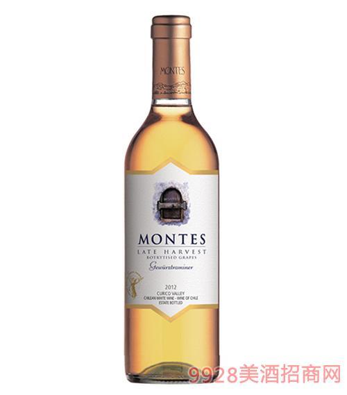 蒙特斯晚收甜白葡萄酒13.5度375ml