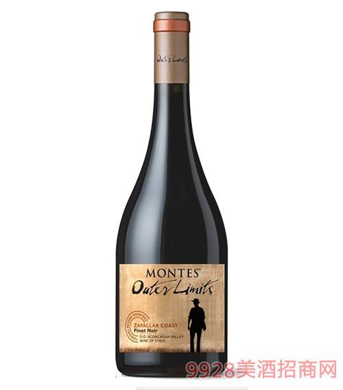 蒙特斯无极黑比诺干红葡萄酒13度750ml