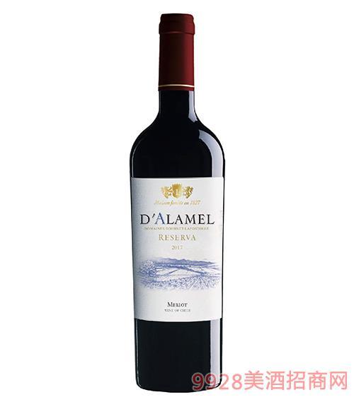 拉博丝特伯爵珍藏・梅洛干红葡萄酒750ml