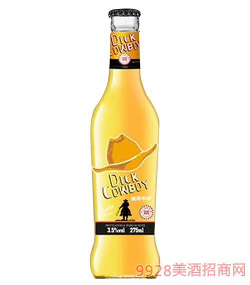 迪克牛仔苏打酒(炫动型)3.5度275ml
