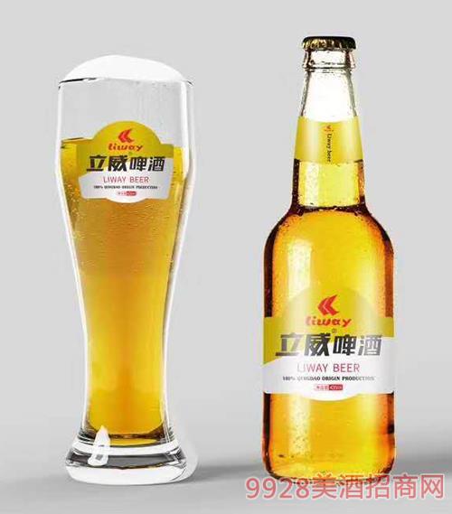 立威大米啤酒瓶装420ml