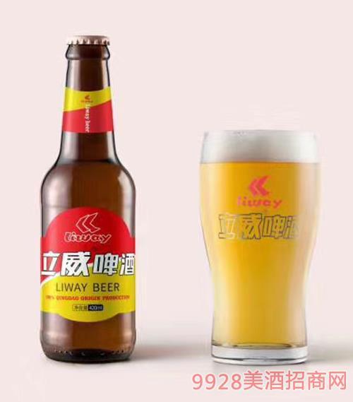 立威大米啤酒420ml