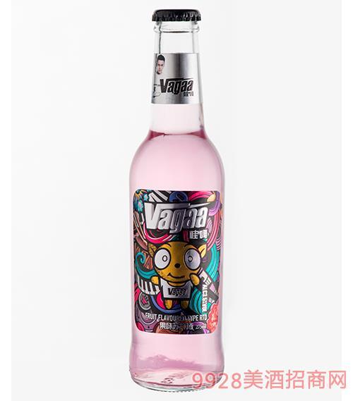 哇嘎�K打酒白金版275ml(水蜜桃味)