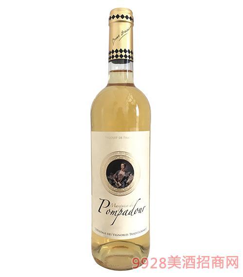 蓬帕杜侯爵夫人干�t葡萄酒750ml