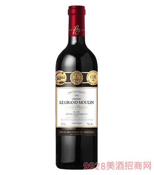 大�L�城堡(3��)干�t葡萄酒750ml