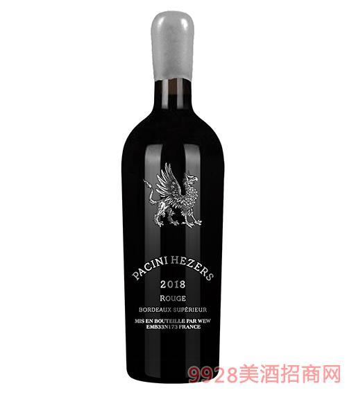 帕齐尼·赫哲斯干红葡萄酒750ml