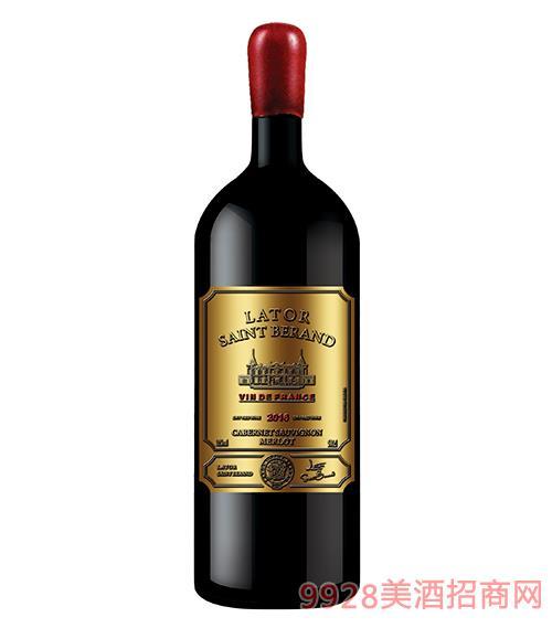 拉�D圣莫伯特・科��德葡萄酒750ml