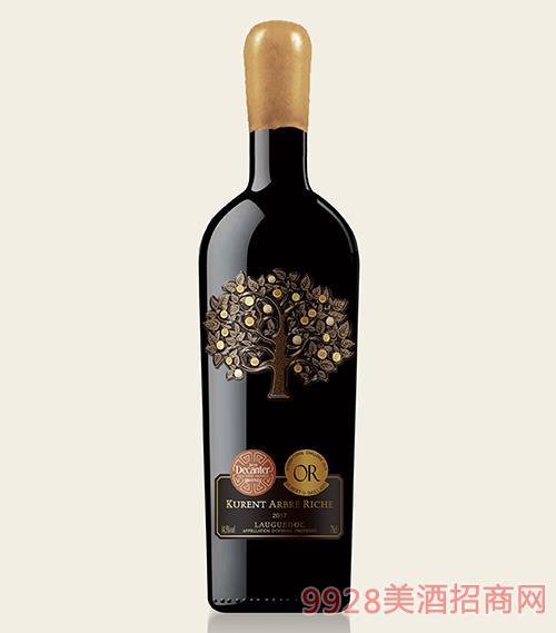 卡伦图·发财树干红葡萄酒750ml