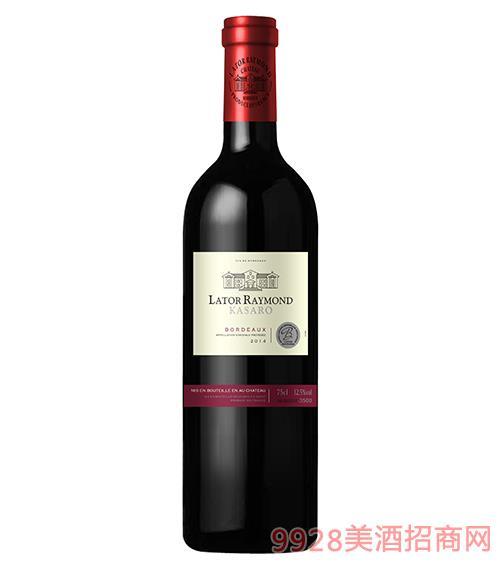 拉图雷蒙城堡·卡萨富干红葡萄酒750ml