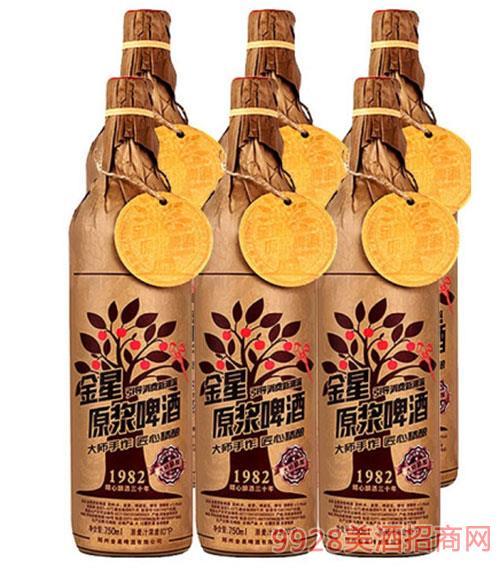 金星精釀原漿啤酒1982 10度750ml