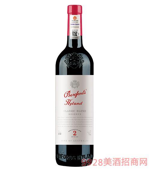 奔富海兰酒庄2珍藏干红葡萄酒