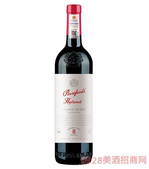 奔富海兰酒庄8珍藏干红葡萄酒