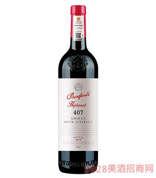 奔富海兰酒庄407珍藏干红葡萄酒