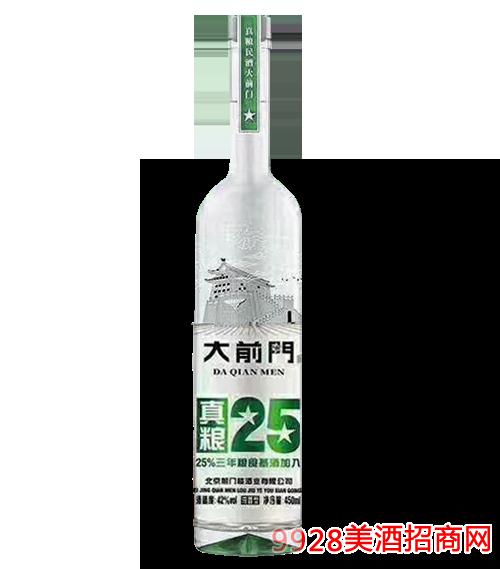 大前门真粮酒25 42度450ml