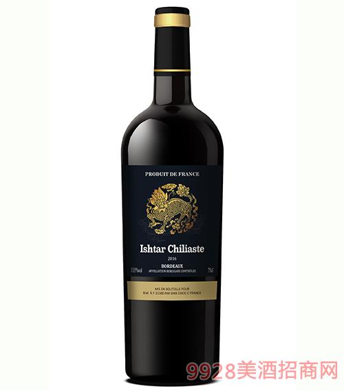 逸骐麟波尔多干红葡萄酒750ml