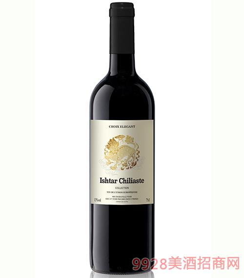 逸骐麟优选干红葡萄酒750ml