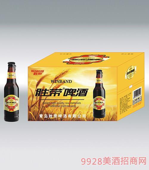 胜带啤酒(红飘带)218ml*24瓶