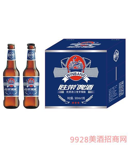 胜带啤酒500ml*12瓶