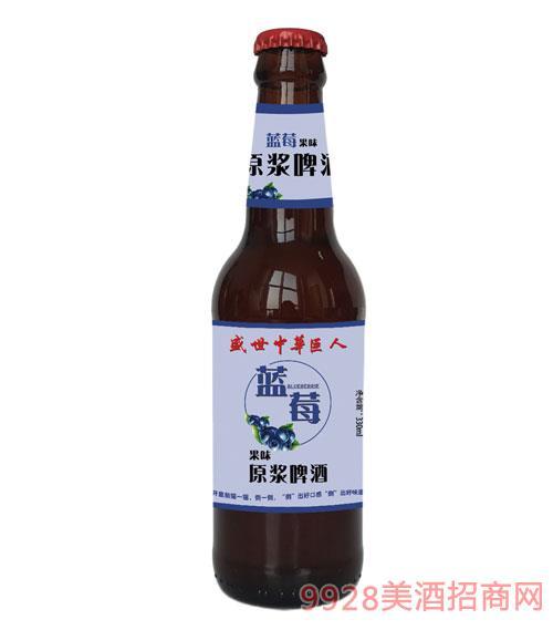 盛世中�A巨人原�{啤酒�{莓口味330mlx24