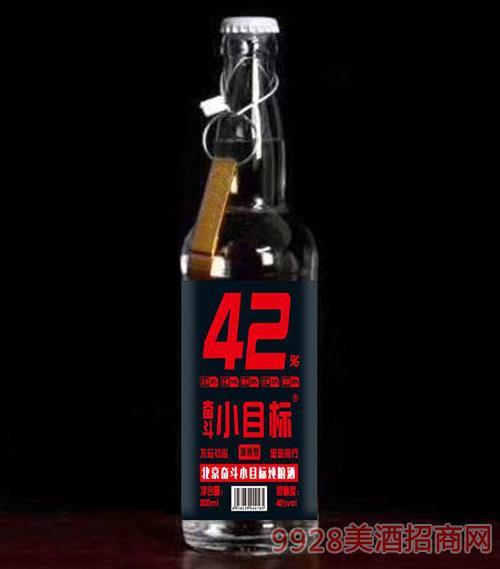 奋斗小目标酒42度500ml(红标)