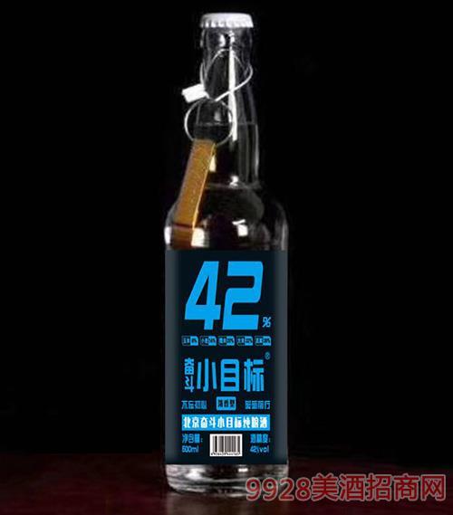 奋斗小目标酒42度500ml(蓝标)