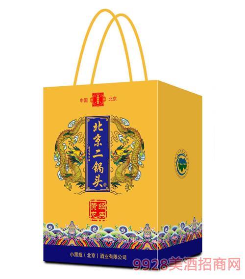 北京二鍋頭經典黃龍(禮盒裝)46度500ml