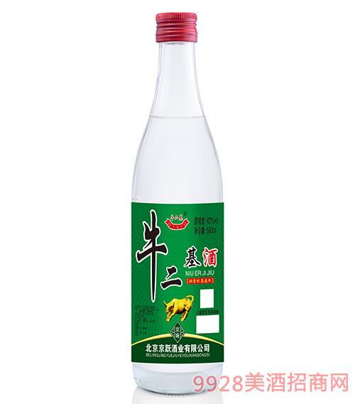 牛二基酒42度500ml