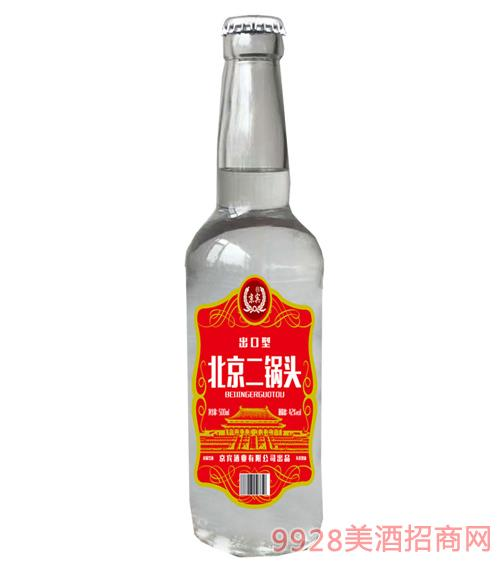 北京二��^酒42度500ml(�t色)