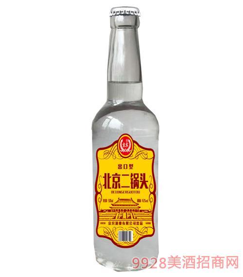 北京二��^酒42度500ml(�S色)