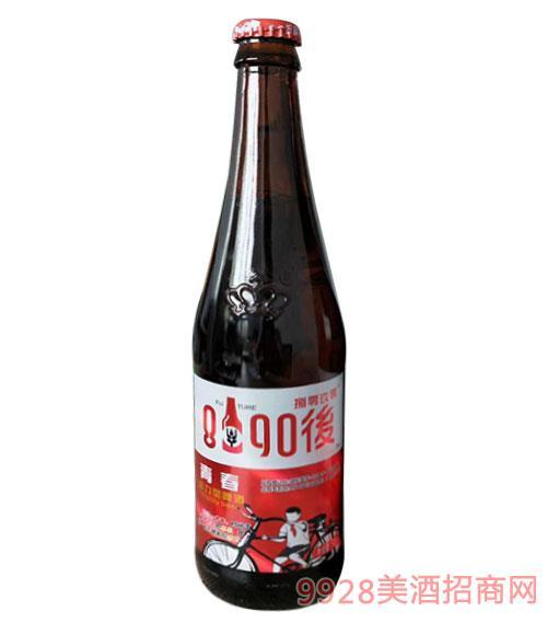 8090后青春活力型啤酒紅標500ml