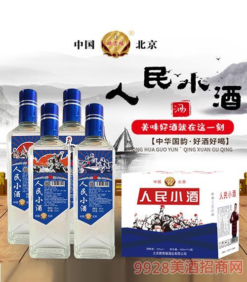 �i�F�人民小酒42度450mlx12