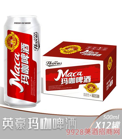 英豪瑪咖啤酒500mlx12罐