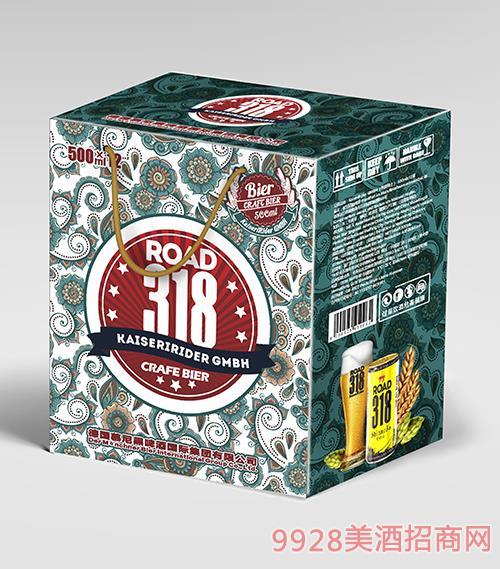 500ml 318 绿花礼盒
